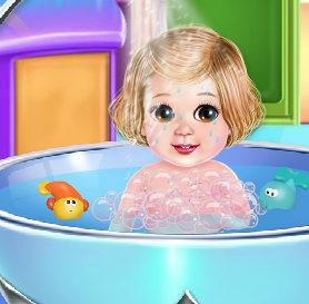 СПА салон для чудной малышки