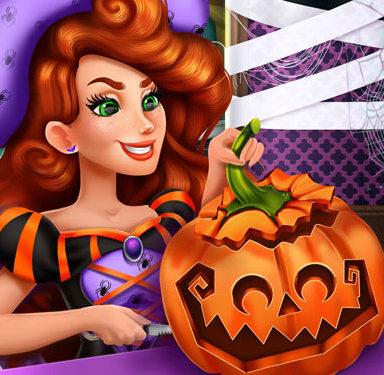 Хэллоуин: Делаем с Джесси тыкву-фонарь