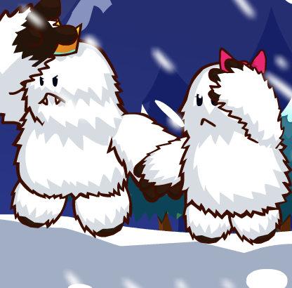 Приключения снежных человечков