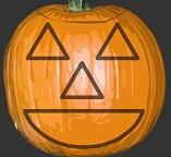Хэллоуин. Вырезаем тыкву