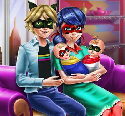 День в семье Леди Баг и Супер Кота