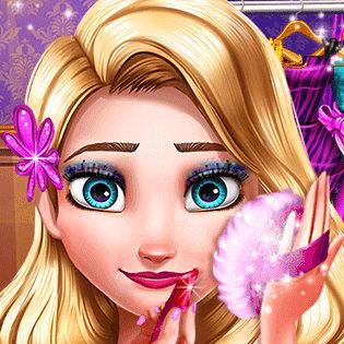 Вечерний макияж для Эльзы