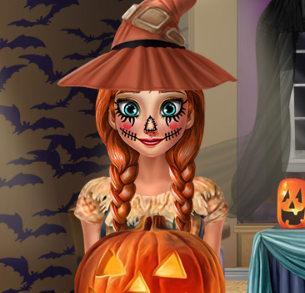 Хэллоуин. Костюм для принцессы Анны