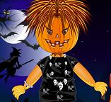 Хэллоуин. Наряжаем пугало Одри