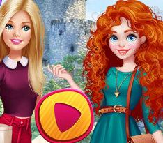 Барби в гостях у принцессы Мериды