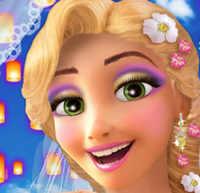 Свадебный макияж для принцессы Рапунцель