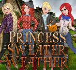 Теплые свитера для принцесс
