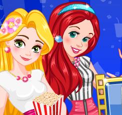 Принцессы Диснея идут в кино