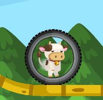 Ловкая коровка