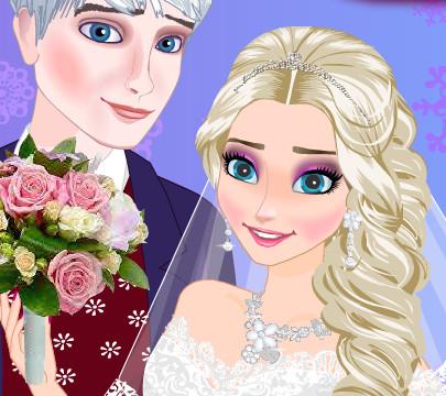 День свадьбы принцессы Эльзы