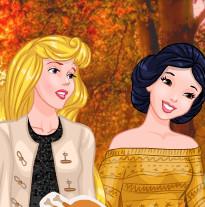 День Благодарения у принцессы Покахотас