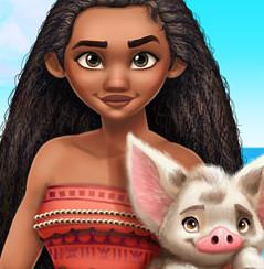 Моана-принцесса Океании