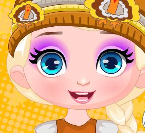 Малышка Эльза на День Благодарения