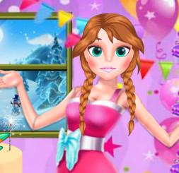 День Благодарения с принцессами Эльзой и Анной