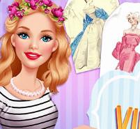 Мода: Барби посещает винтажную ярмарку