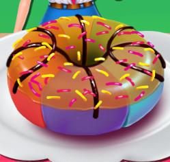 Готовим радужные пончики