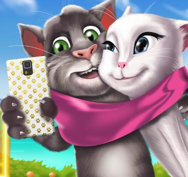 Том и Анжела: Селфи для говорящих кошек
