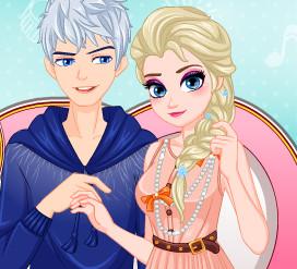 Свидание принцессы Эльзы и Джека