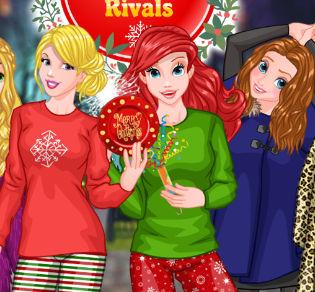 Принцессы Диснея— Новогодние соперницы