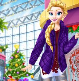 Принцессы Диснея: Поход в торговый центр перед Рождеством