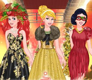 Новогоднее модное шоу принцесс Диснея