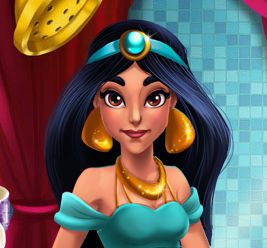 Принцесса Жасмин: В Аграбе жарко
