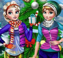Новогодние каникулы с Эльзой и Анной