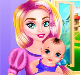 Игры девочек о мамы рожают