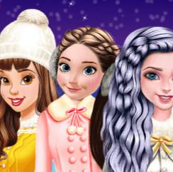 Принцессы Диснея: Катание на коньках