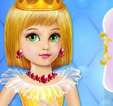 Маникюр для маленькой принцессы