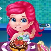 Кулинарный конкурс маленьких принцесс
