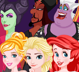 Принцессы против злодеек: Обмен персонажами
