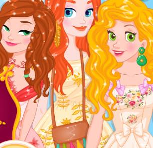 Принцессы Диснея в Стране Чудес