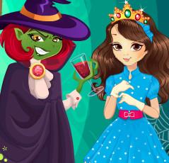Фантастическая история с принцессой