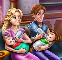 Игры для девочек о одеваем семью