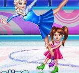 В королевстве Эренделл соревнования на коньках