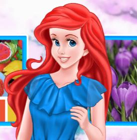 Принцесса Ариэль: Весенние цветовые комбинации