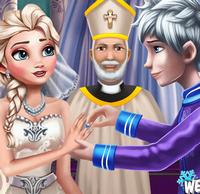 Свадебная церемония королевы Эльзы