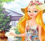 Садовый сюрприз от принцессы Рапунцель
