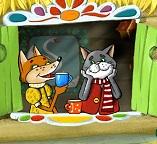 Сказка : Кот и Лиса