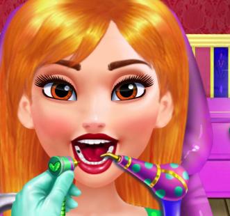 Королевский стоматолог для принцесс Диснея