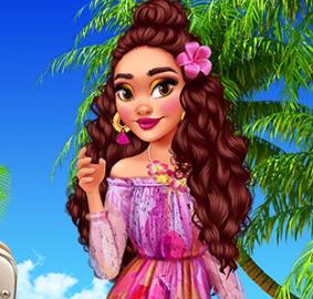 Принцесса Моана в раю