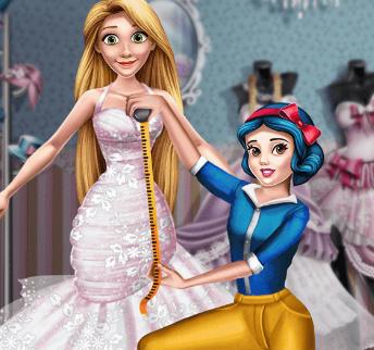 Игры для девочек шьем платье на свадьбу