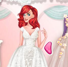 Шьем свадебные платья игры