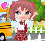 Малышки принцессы возвращаются в школу