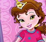 Один день из школьной жизни принцесс Рапунцель и Белль