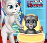 Кошки: Игрушки для сыночка Анжелы и Тома