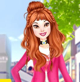Белль— современная городская девушка