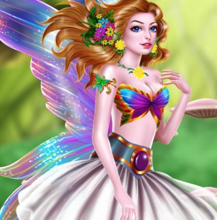 СПА салон для принцессы феи