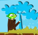 Полет злой зеленой птички